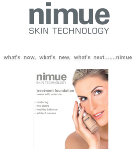 Nimue Skin Technology Products Newport Northern Beaches